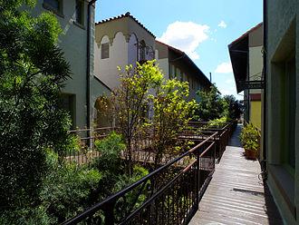 Granada Shoppes and Studios - The Granada Buildings mezzanine level