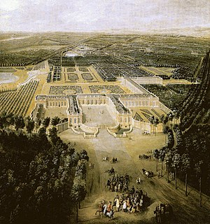 palace situated in the northwestern part of the Domain of Versailles