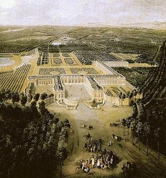 Grand Trianon - Image: Grand Trianon 1700