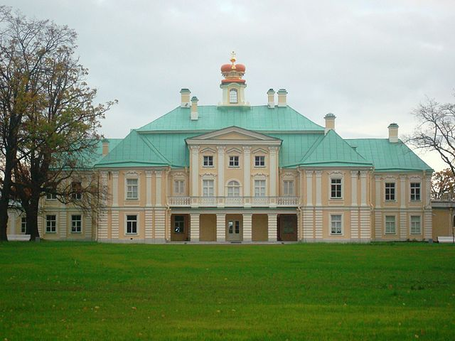 Большой дворец в Ораниенбауме— местопребывание «малого двора»