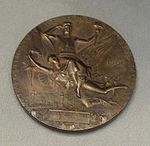 Grand Prize awarded to the Rookwood Pottery Company, Universal Exposition, 1900, Paris, France, bronze - Cincinnati Art Museum - DSC03104.JPG