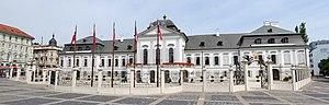Grassalkovich Palace - The Grassalkovich Palace