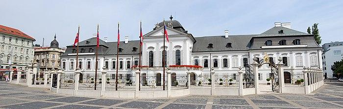 Grasalkovičov palác - Residence of the President of Slovakia