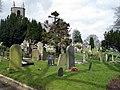 Graveyard, Holy Trinity Drumbo, Ballylesson - geograph.org.uk - 756926.jpg