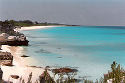 Great Harbour Cay offers three horseshoe beaches