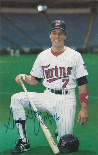 Greg Gagne (baseball) - Gagne in 1987