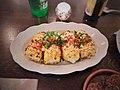 Grilled yellow sweet corn, pork cracklins, queso fresco, aleppo, smokey miso aioli.jpg