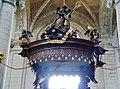 Grimbergen Basiliek Sint Servaas Innen Kanzel Schalldeckel.jpg