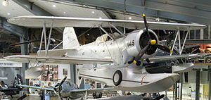 Grumman J2F-5 Duck, Naval Aviation Museum, Pensacola, Florida.jpg