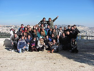 Birthright Israel - Taglit delegation, winter 2012
