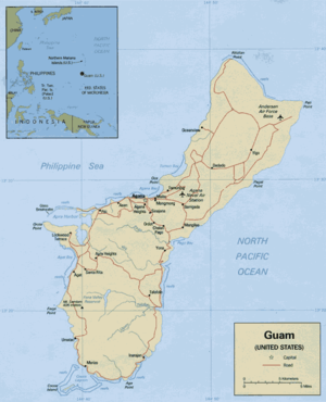 Geography of Guam