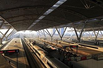 Guangzhou South railway station - Platforms