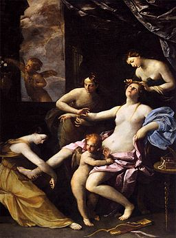 Guido Reni - The Toilet of Venus - WGA19297