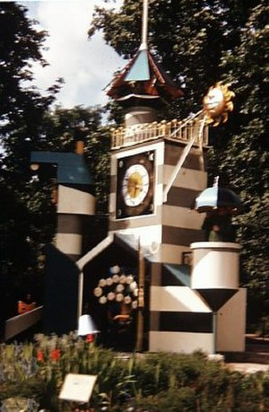 Battersea Park - The Guinness Clock