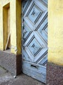 Gunnar Taucher, Makelankatu housing, door detail, Helsinki.tif