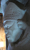 Detalje fra Birger Gunnersens alvorlig i Lunds domkirke.