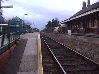 Gunton railway station railway station