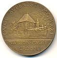 Gustave Flaubert Medaille RV.jpg