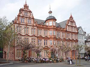"Gutenberg Museum - House ""Zum Römischen Kaiser"", today: Gutenberg Museum"