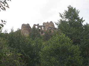 Siege of Gvozdansko - Ruins of Gvozdansko Castle