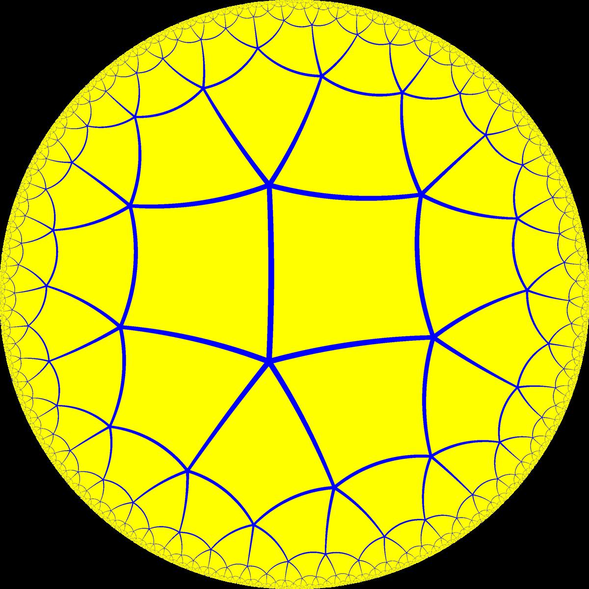 Order-5 square tiling