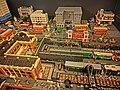 HKPIEG Infrastructure Gallery exhibit - TST 尖沙咀 往昔建築物 Lego model past May-2013 old Tram Station n Salisburg Road n Peninsula Hotel.JPG