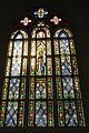 HK 薄扶林 PFL 伯大尼修道院 Béthanie Neo-gothic Chapel 新哥德式教堂 church window interior colorful March 2017 IX1 001 (1).jpg