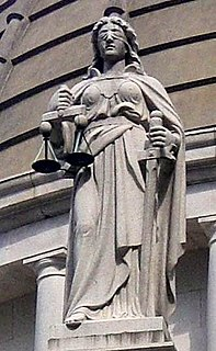 Lady Justice Personification of justice