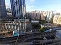 HK KT Kwun Tong APM mall view 裕民坊 Yue Man Square buildings evening July 2020 SS2 02.jpg