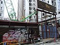 HK Sai Ying Pun 桂香街 1 Kwai Heung Street The Met Sublime construction site Sept-2012.JPG