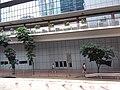 HK tram view Queensway Hennessy Road footbridge September 2019 SSG 01.jpg