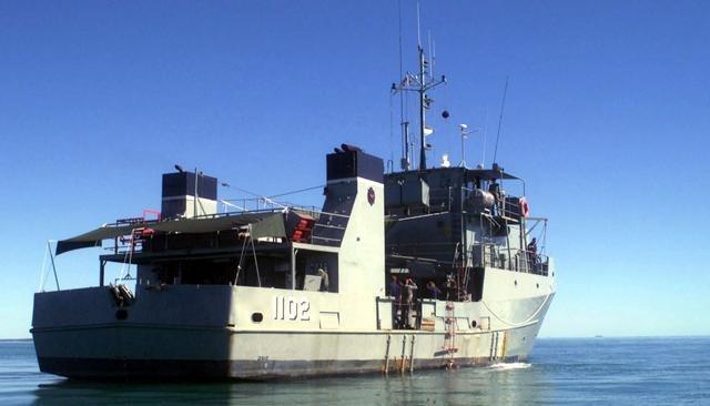 HMAS Brolga