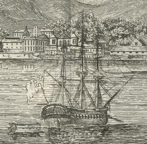 HMS Briton (1812) - Image: HMS Briton off Rio de Janeiro