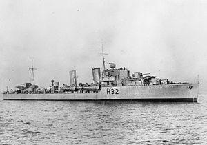 哈文特号驱逐舰