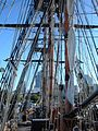HMS Surprise (replica ship) masts 1.JPG