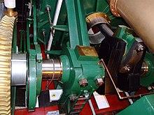 HMS Warrior trunk engine