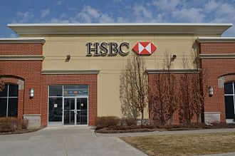 HSBC Bank Canada - An HSBC Canada branch in Richmond Hill, Ontario