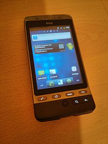 HTC Hero with CyanogenMod 7
