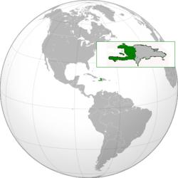 Localização  República do Haiti