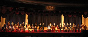 The Hall of Presidents - The 2001–08 version of the show, featuring a speech by George W. Bush