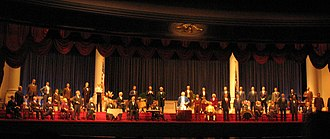 The Hall of Presidents - The 2001–09 version of the show, featuring a speech by George W. Bush