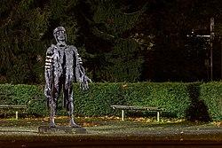 Haltern am See, Skulptur -Der gescheiterte Varus- (Wilfried Koch) -- 2013 -- 5001.jpg
