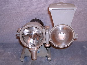 Mill (grinding) - A tabletop hammer mill