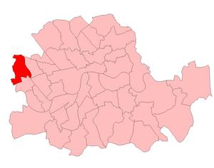 Hammersmith North (UK Parliament constituency) - Hammersmith North 1950-55