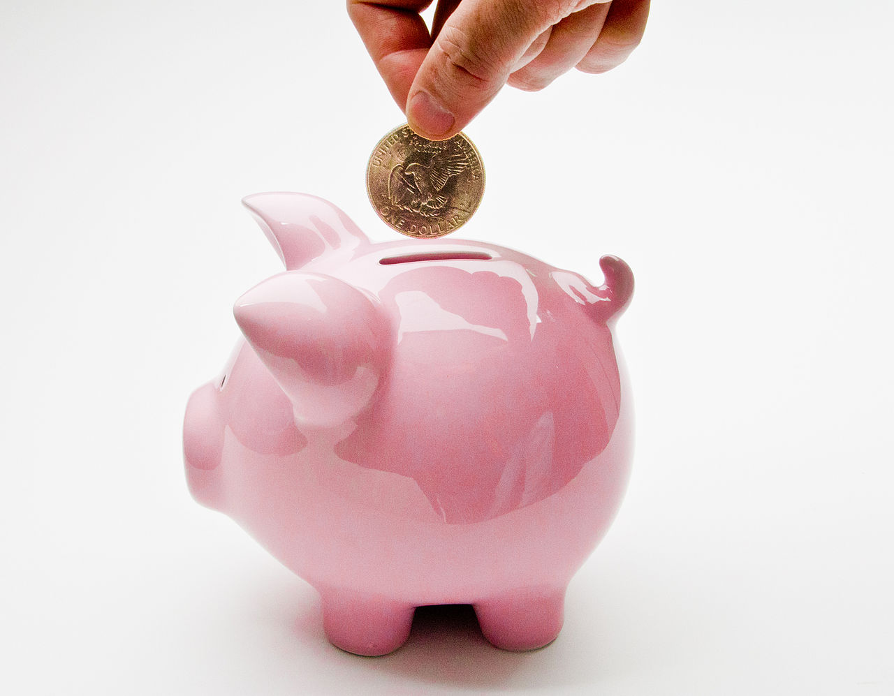 File:Hand Putting Deposit Into Piggy Bank (5737295175).jpg ...