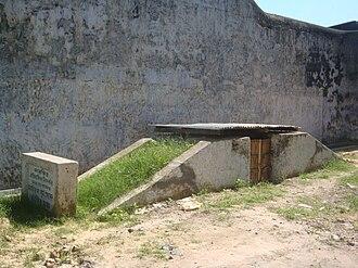 Chittagong armoury raid - Image: Hangplatform Left