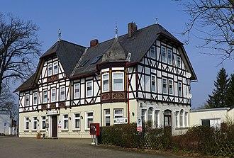 Hankensbüttel - Image: Hankensbüttel Gasthaus Döring