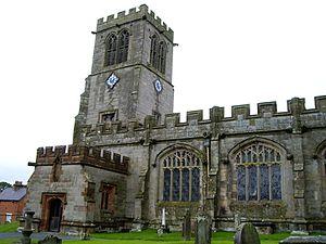 Hanmer, Wales - St Chad's Church