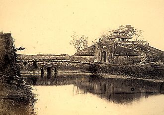 Hanoi Citadel - North Gate of the Citadel of Hanoi (1885)