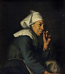 Peasant woman from Brittany